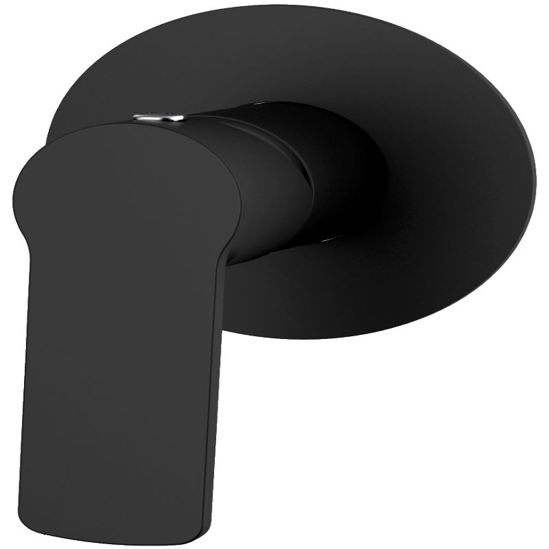 Millennium Akemi Shower Mixer Black Chrome