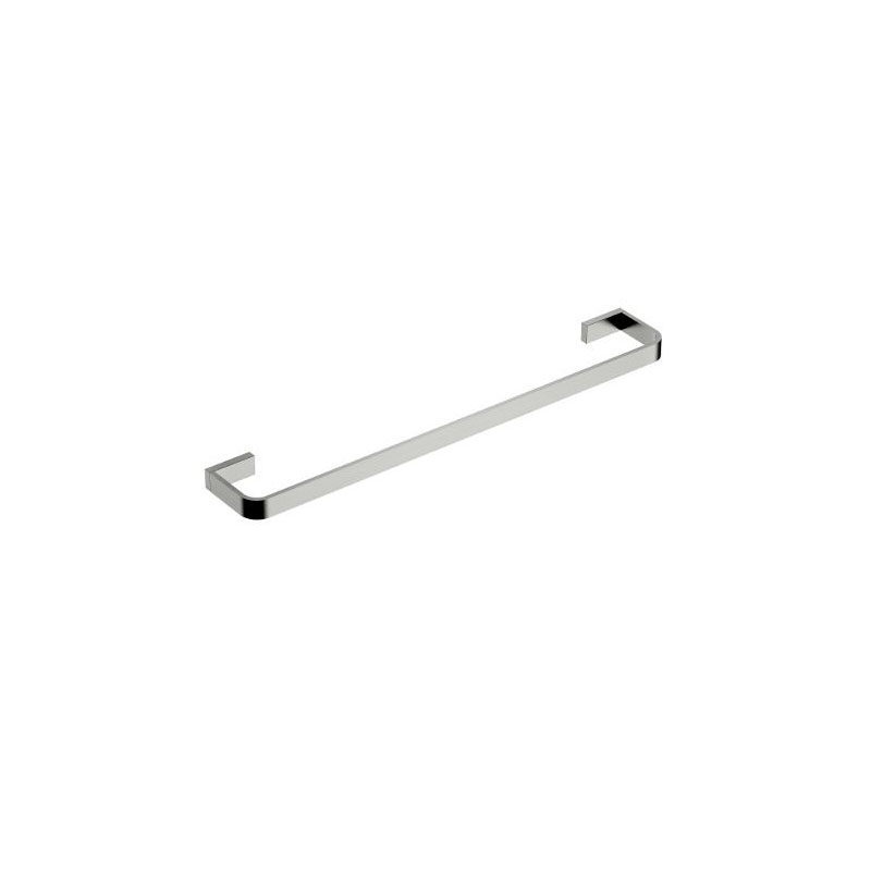 INIS SINGLE TOWEL RAIL 600MM BRUSHED NICKEL
