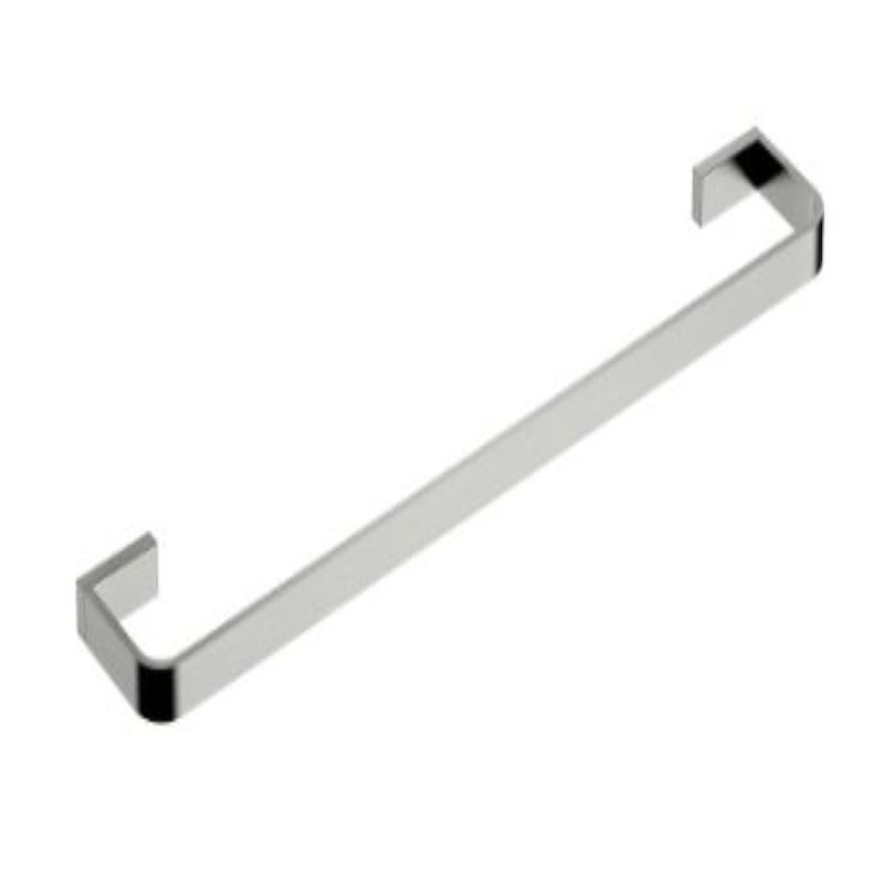 INIS SINGLE TOWEL RAIL 800MM BRUSHED NICKEL