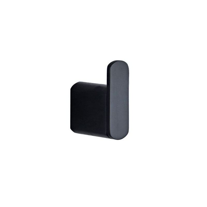ZOYA ROBE HOOK MATTE BLACK