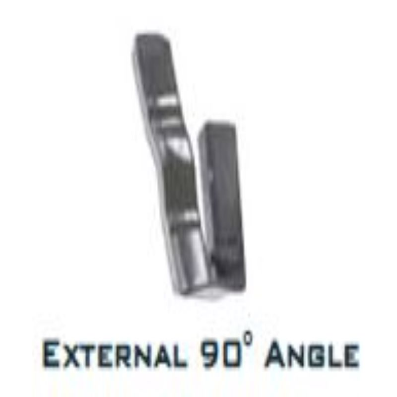 NULINE EXTERNAL ANGLE 90 DEGREE IRON GREY