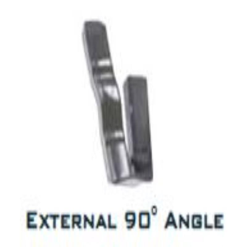 NULIINE EXTERNAL ANGLE 90 DEGREE SLATE GREY