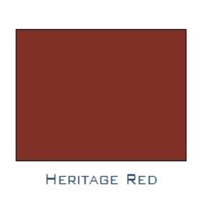 NULINE GUTTER HERITAGE RED PR METRE NHR999
