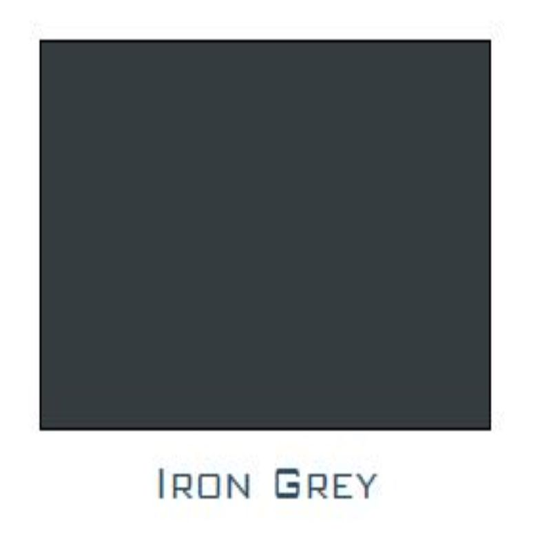 NULINE STOP END (EACH) IRON GREY