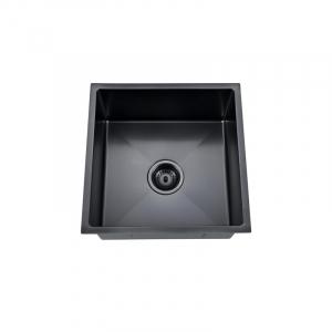 Buderim Single Bowl Black Nano Sink