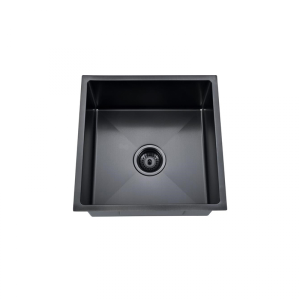 Buderim Single Bowl Black Nano Sink