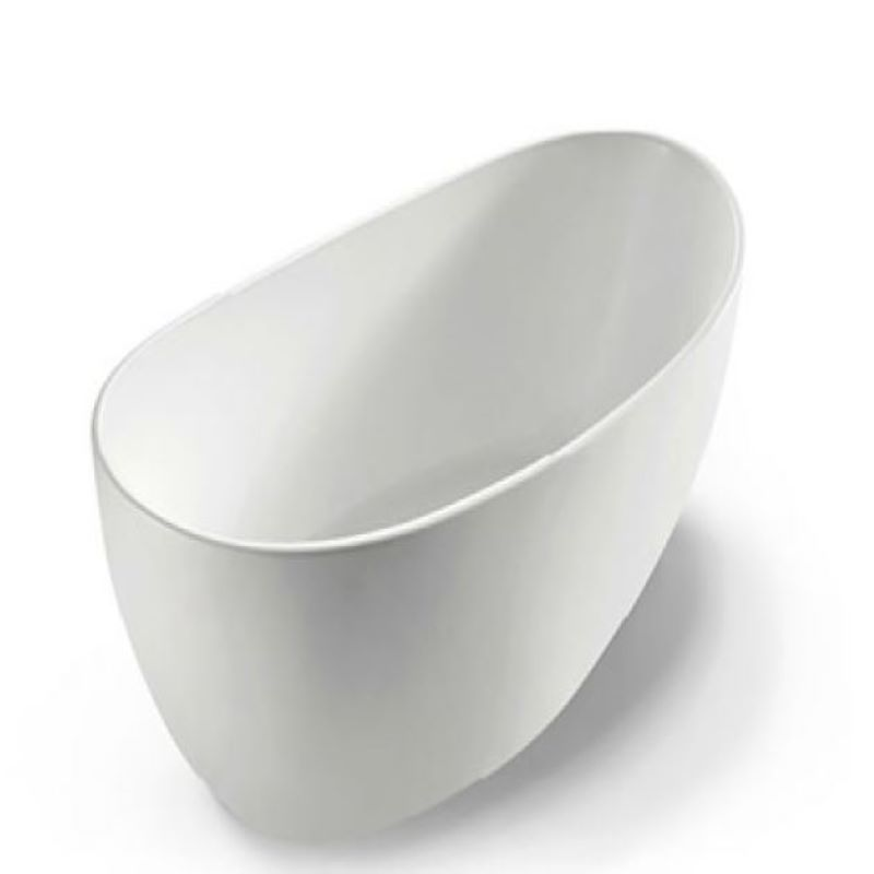 Corfu 1700 Freestanding White Bath
