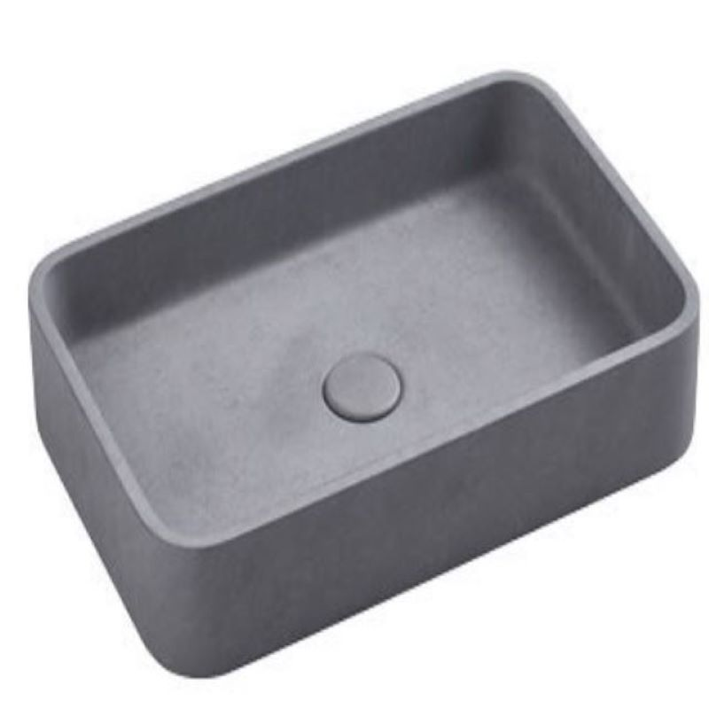 Cuneo Concrete French Grey Basin