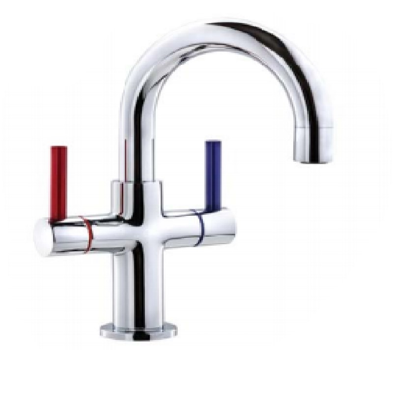 Ewing Esee Twinner Basin Mixer Chrome