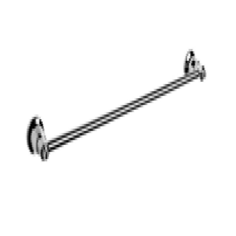 Ewing Pasadena 750mm Single Towel Rail Chrome