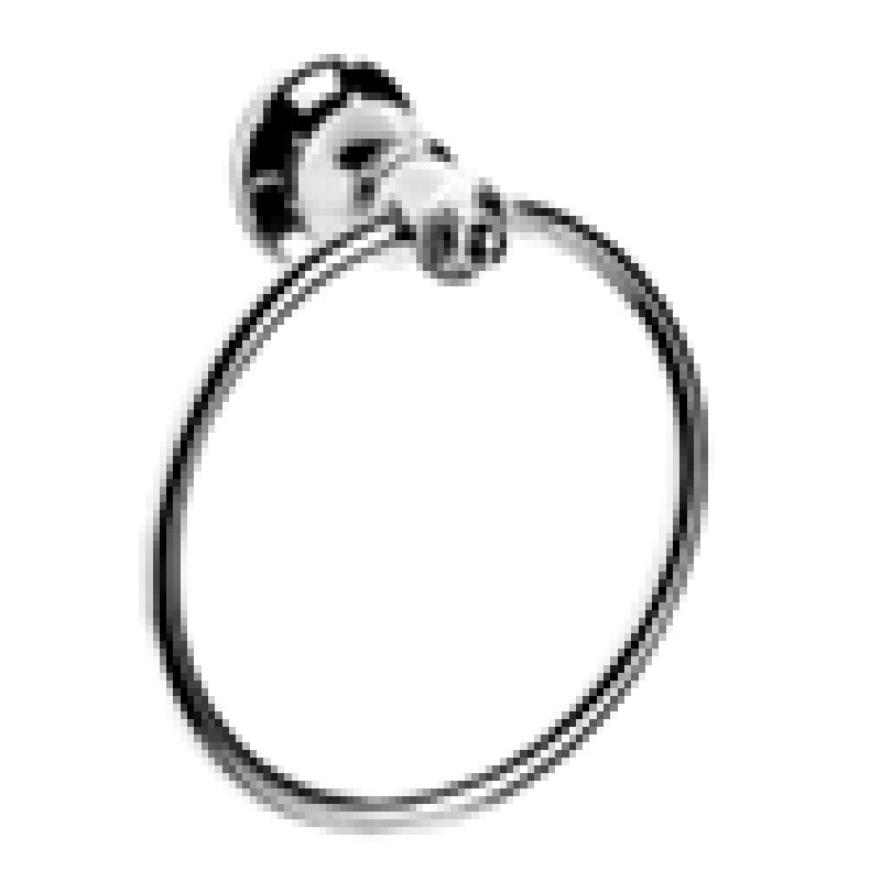 Ewing Pasadena Towel Ring Chrome