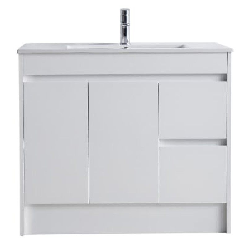 IIon PVC 900mm Right Hand Drawer Vanity
