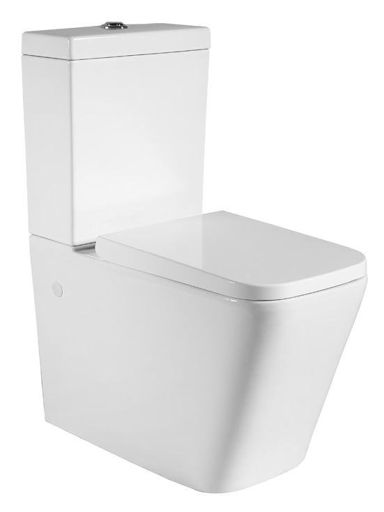 Ikaria MKII Back To Wall Toilet Suite