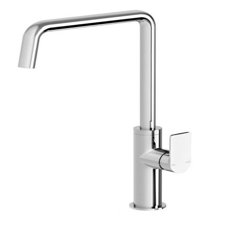 MEKKO 190MM SQUARELINE SINK MIXER CHROME