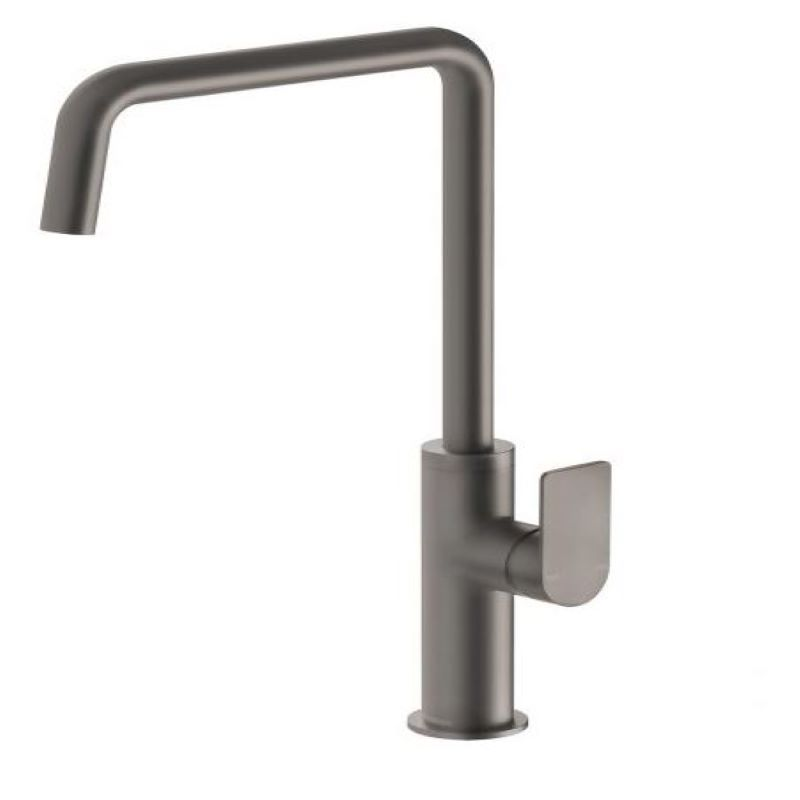 MEKKO 190MM SQUARELINE SINK MIXER GUN METAL