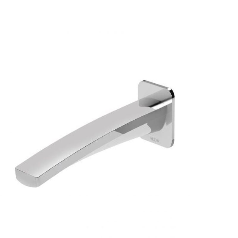 MEKKO 200MM WALL BASIN OUTLET CHROME