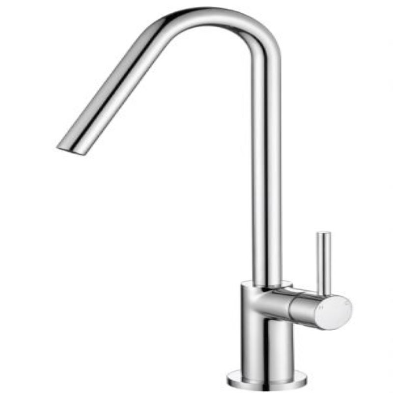 Modern National Loop 25mm Kitchen Mixer Chrome