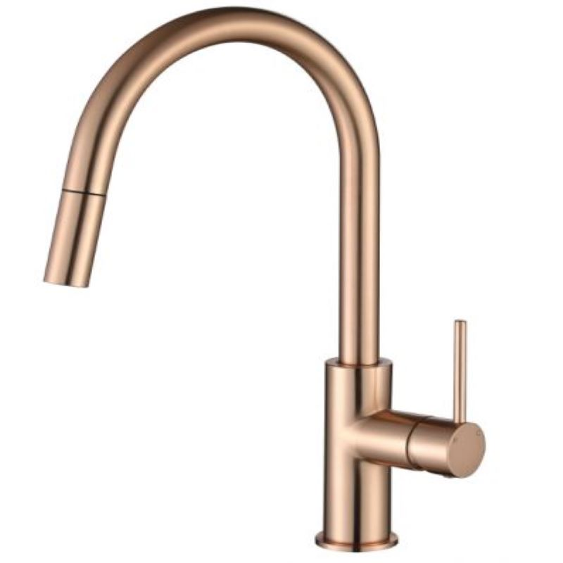 Modern National Star Mini Pull Out Mixer Copper