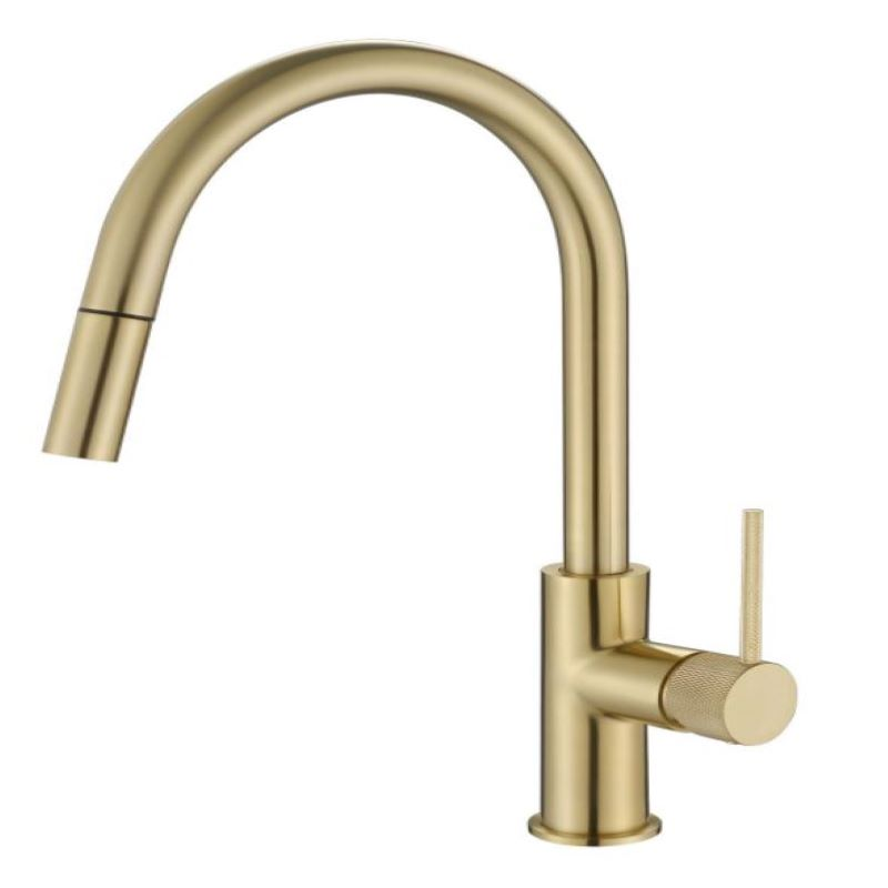 Modern National Star Mini Pull Out Sink Mixer Brushed Bronze