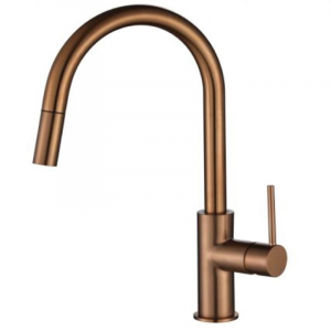 Modern National Star Mini Pull Out Sink Mixer Champagne
