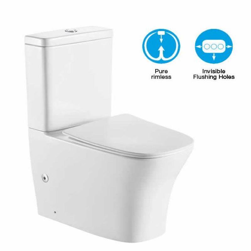 Symi Rimless Toilet Suite