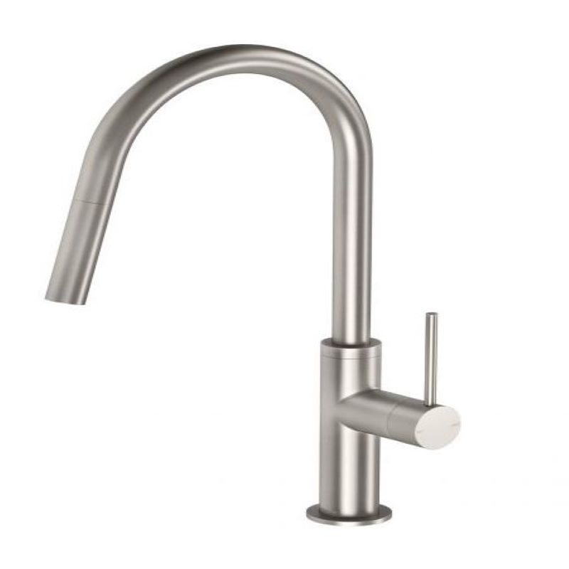 VIVID SLIMLINE PULLOUT SINK MIXER BRUSHED NICKEL