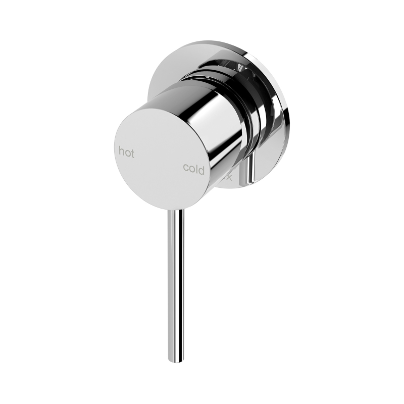 VIVID SLIMLINE SHOWER WALL MIXER 60MM BACK PLATE CHROME