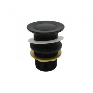 Bekken 32mm Standard Pop Up Waste No Overflow Black