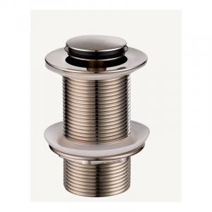 Bekken 32mm Standard Pop-Up Waste No Overflow Brushed Nickel