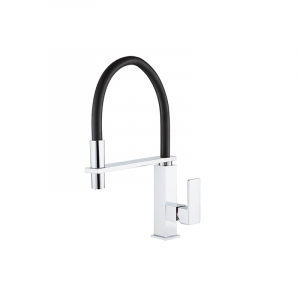 Bekken 007 Square Pull Down Sink Mixer Chrome