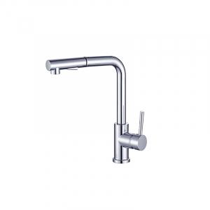 Bekken 011 Angled Pullout Sink Mixer Chrome