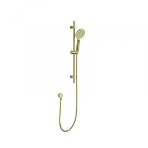 Bekken Corfu Multifunction Sliding Rail Shower Brushed Gold