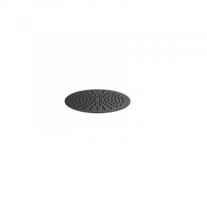 Bekken Corfu Stainless Steel Rain Shower Head 300mm Black