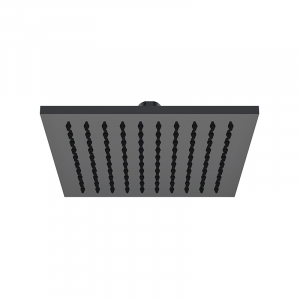 Bekken IIon Brass Rain Shower Head 200mm Black